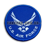 Нашивка US Air Force круглая